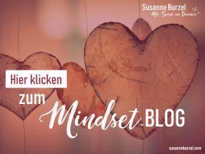 Mindset-Blog von Susanne Burzel - Sichtbarkeitsexpertin für Gründerinnen