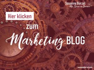 Marketing Blog von Susanne Burzel - Sichtbarkeitsexpertin für Gründerinnen
