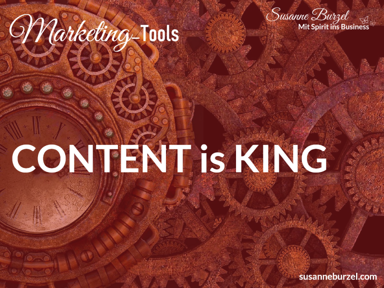 Content is King - Blogartikel von Susanne Burzel